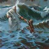 Be a water walker and look upon YAHUSHUA and you will not drown in the coming storms!